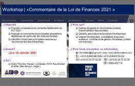 «Commentaire de la Loi de Finances 2021 »