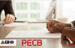 Accord de partenariat AFC Formation │PECB